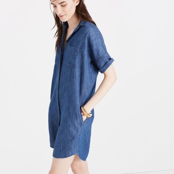 6346c99ca8 Madewell Denim Dress